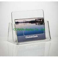 Cheap Acrylic business card holder wholesale