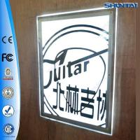 Wholesale High Quality Thin LED Frameless Crystal Display Poster Frame from china suppliers