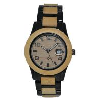 Eco-friendly Natural Wood And Alloy Watch