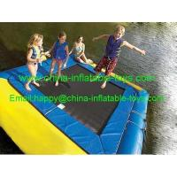 China water games amusement water park inflatable water trampoline-WG-012 wholesale