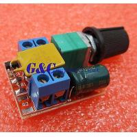 China 5pcs Mini DC 5A Motor PWM Speed Controller 3V-35V Speed Switch LED Dimmer wholesale