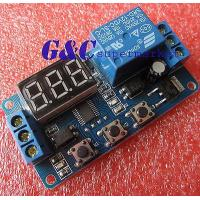 China 5PCS 12V LED Home Automation Delay Timer Control Switch Relay Module Digital wholesale
