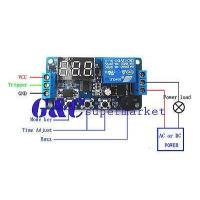 China 5PCS 12V Programmable timer relay module Delay Timer Control Switch with LED wholesale