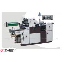 China XH47SNP/56SNP/62SNP Single Color Offset Press with Numbering & Perforating wholesale