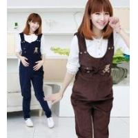 Maternity overalls / new Korean pregnant women Bib/suspender trousers/ trousers with braces