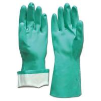 Household gloves Nitrile Glove-Nitrile Flocklined