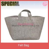Logo printing Felt handbag shoulder bag ,shoulder long strip bag